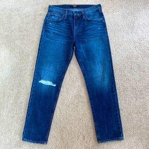 Hudson Distressed Jessi Boyfriend Jeans